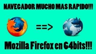 Mozilla Firefox EN 64 BITS! (Waterfox) (Descargar e Instalar)