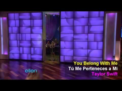 You Belong With Me  Taylor Swift English Español
