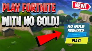 How To Play Fortnite Without Xbox Live Gold! Working March 2020!