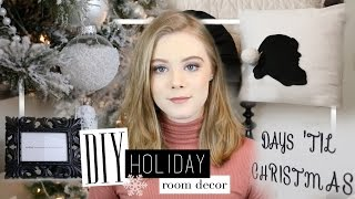 DIY Holiday Room Decor! 2016 | Annalee Elizabeth
