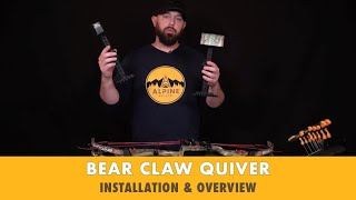 Alpine Archery - Bear Claw Arrow Quiver - Installation and Overview