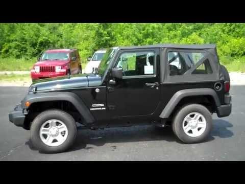2012 Jeep Wrangler Soft Top With Sticker Around $25k (brand New)