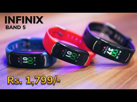 Infinix Band 5 review - यह या Mi Band 4 ?