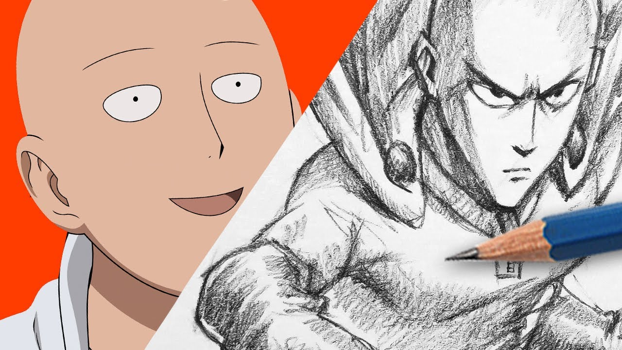 Cool Saitama Images - Drawing Saitama - YouTube