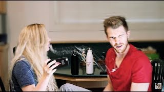 COUPLES TRY NOT TO LAUGH CHALLENGE WITH MY FIANCE