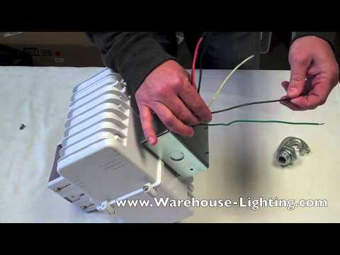 how to wire ballast 1 youtube Cooper 1000d14g07 Ballast Wiring Diagram Cooper 1000d14g07 Ballast Wiring Diagram #5 T8 Ballast Wiring Diagram