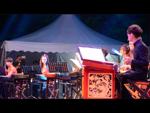 2015 Rainforest World Music Festival - Kenwy Yangqing Ensemble (Sarawak)