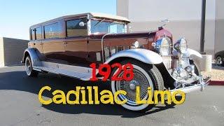 1928 LS3 Custom Cadillac Limousine - Vegas Pro Detail Las Vegas