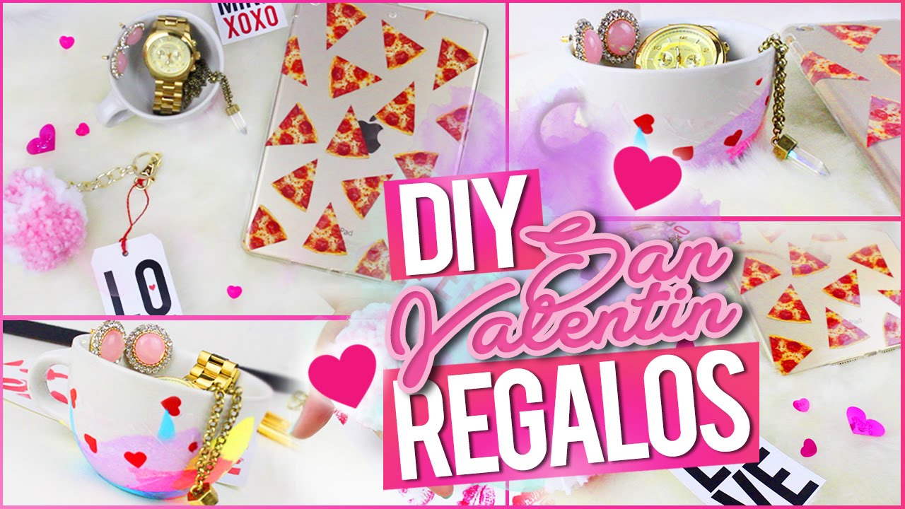 Diy Regalos Creativos Para San Valentin Youtube
