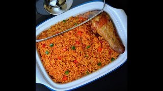 HOW TO MAKE THE PERFECT PARTY JOLLOF RICE - PARTY JOLLOF RICE - HOLIDAY INSPIRED - ZEELICIOUS FOODS