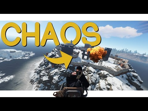 Rust - CHAOS On Anarchy Island! thumbnail