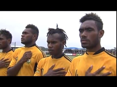 Pacific Games  2015 Football New Zealand vs Vanuatu