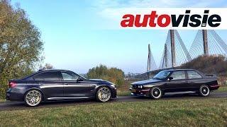 Rendez-vous: BMW M3 E30 Evo ontmoet M3 30 Jahre Edition - by Autovisie TV