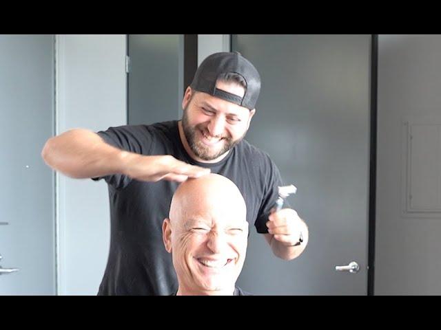 Mandel howie shave head why did his Howie Mandel