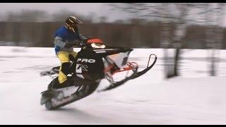 Снегоходы-Кроссоверы Polaris/Обзор И Тест