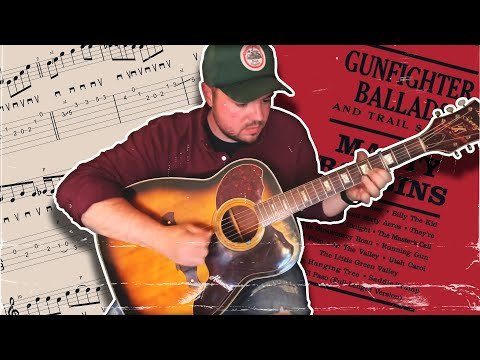 Learning Trey Hensley's Big Iron Guitar Solo - Advanced Bluegrass and Country Guitar