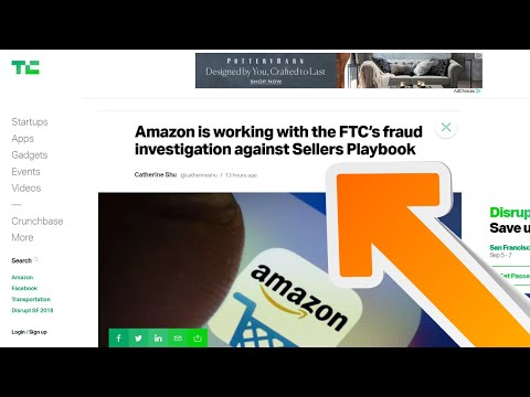 Amazon is working with the FTC's fraud investigation against Sellers Playbook