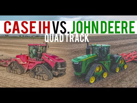 John Deere And Case IH QuadTrac Review 2017 | Demo Vlog 26