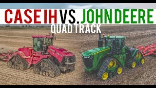 John Deere and Case IH QuadTrac Review 2017 | Demo Vlog 26