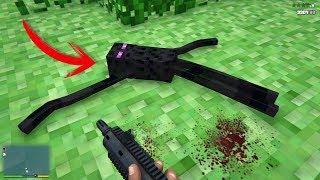 ¿Qué pasa si ponemos el mapa de Minecraft en GTA 5? GTA V PC Mods Dutygameplays