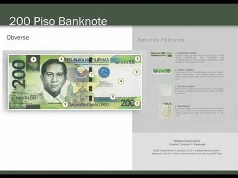 new Philippine bank notes