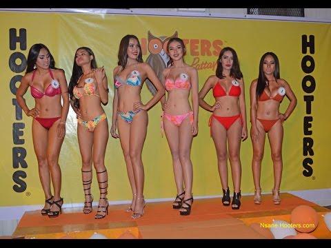 Hooters Of Pattaya Thailand Bikini Contest 2017
