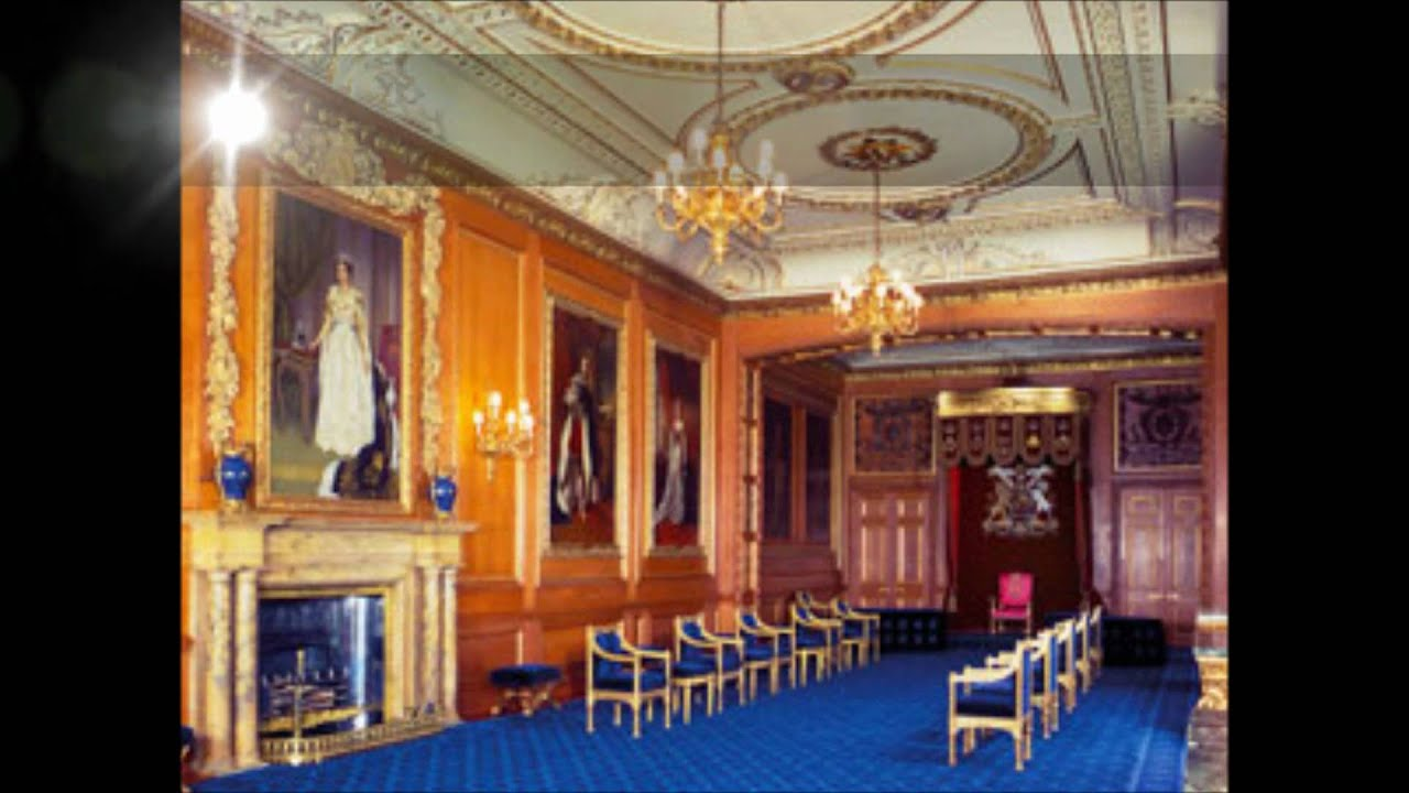 Interiors Of The English Royal Palaces
