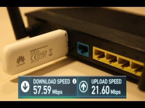 LTE 4G speed: Huawei E3372 + Asus RT-AC51U PLAY (E3372h-153 HiLink)
