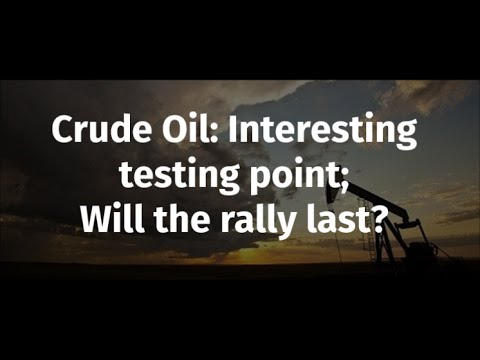 Crude Oil Analysis: Interesting testing point; will the rally last?