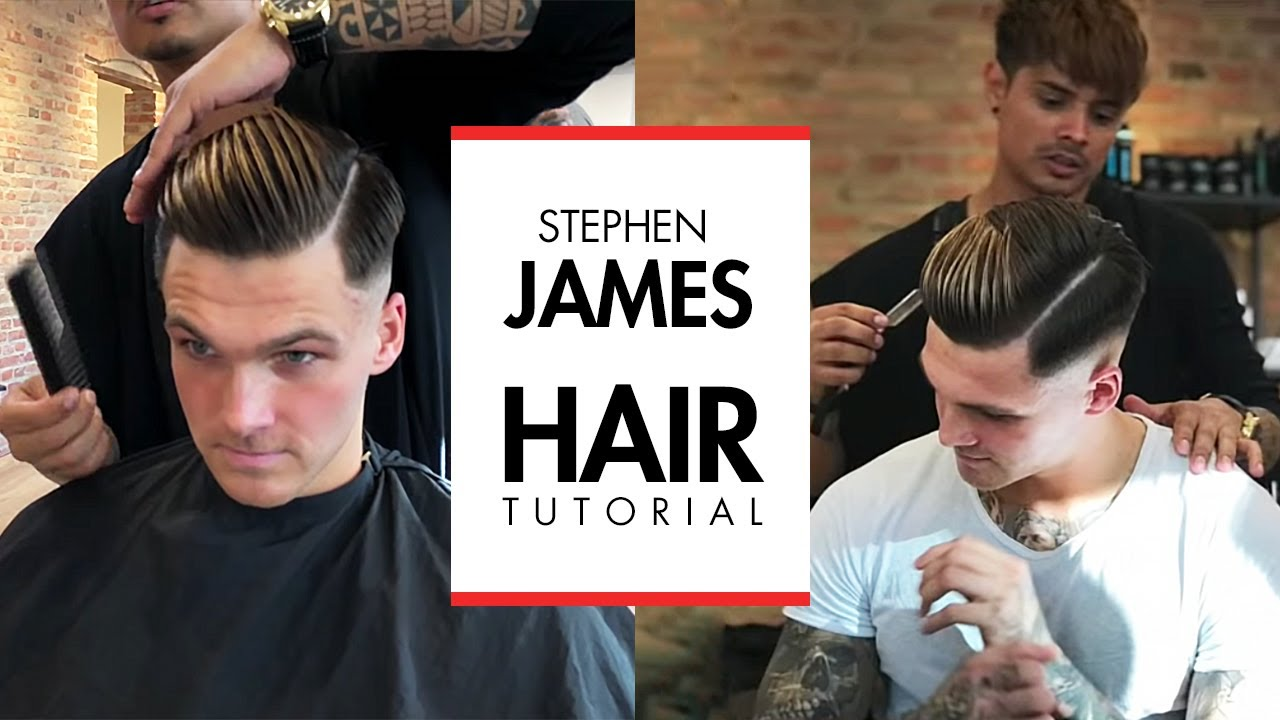 Stephen James Hair Skin Fade Undercut Hairstyle