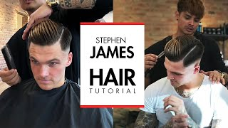 Stephen James Hair - Skin fade undercut hairstyle
