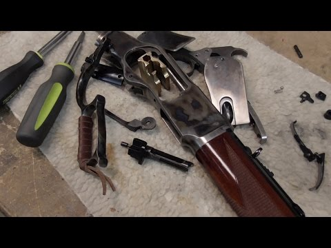 Slicking Up The Winchester 1873 - Cowboy Action Guns