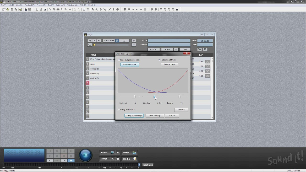 Audio Mastering Software Sound it! 8 Pro Tutorial 6 (Batch Processing & CD  Burning)