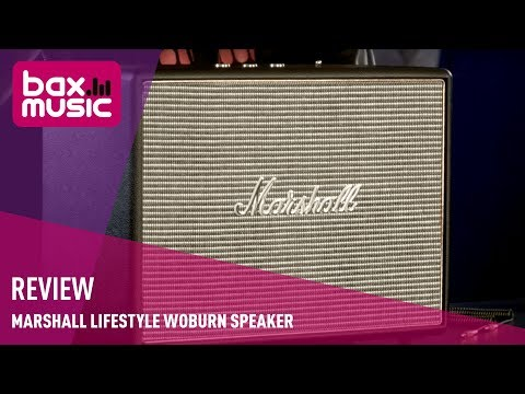Marshall Lifestyle Woburn Speaker - Review