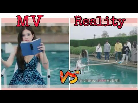 JENNIE - SOLO MV VS REALITY