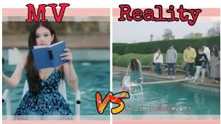 JENNIE SOLO MV VS REALITY