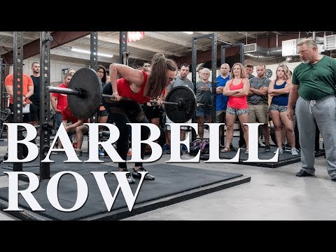 The Barbell Row with Mark Rippetoe