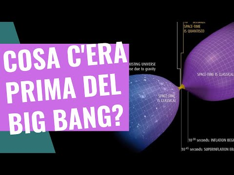 Cosa c'era prima del big bang?