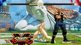 Street Fighter V AE Chun Li vs Sagat PC Mod
