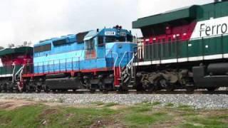 ferromex encuentro de trenes en las juntas jalisco