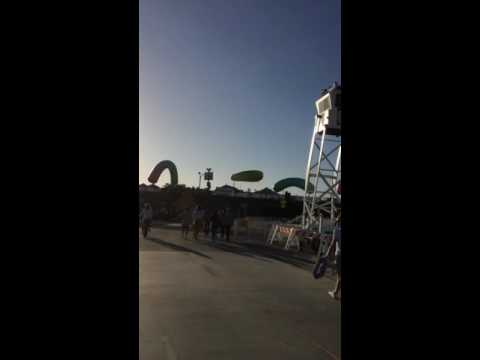 Santa Monica pier report