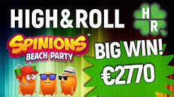 Play Spinions Beach Party Slot Machine Online (Quickspin) Free Game