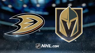 John Gibson recorded 13 saves before leaving with an injury, as Rya...