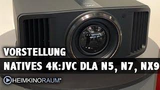 JVC DLA N5, N7 , NX9 4K und 8K Beamer erster Eindruck von der IFA 2018