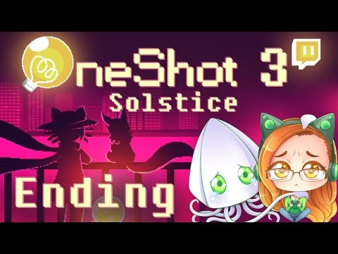 OneShot: Solstice DLC (ENDING) -THE CLOCK & THE WORLD MACHINE ~Part 3/The Refuge~ (Pixel Indie Game)