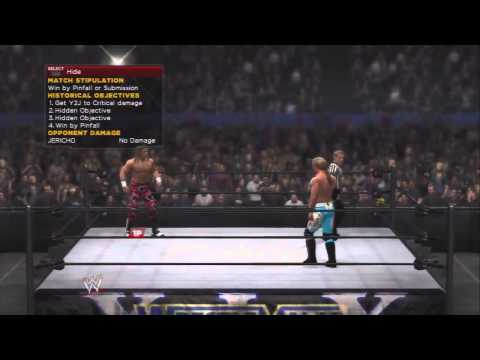 WWE 2K14 30 Years Of Wrestlemania Ruthless Aggression - Shawn Michaels Vs Chris Jericho
