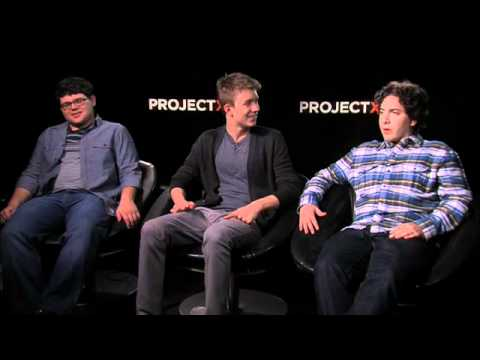 Project X Interview - Thomas Mann, Oliver Cooper & Jonathan Daniel Brown