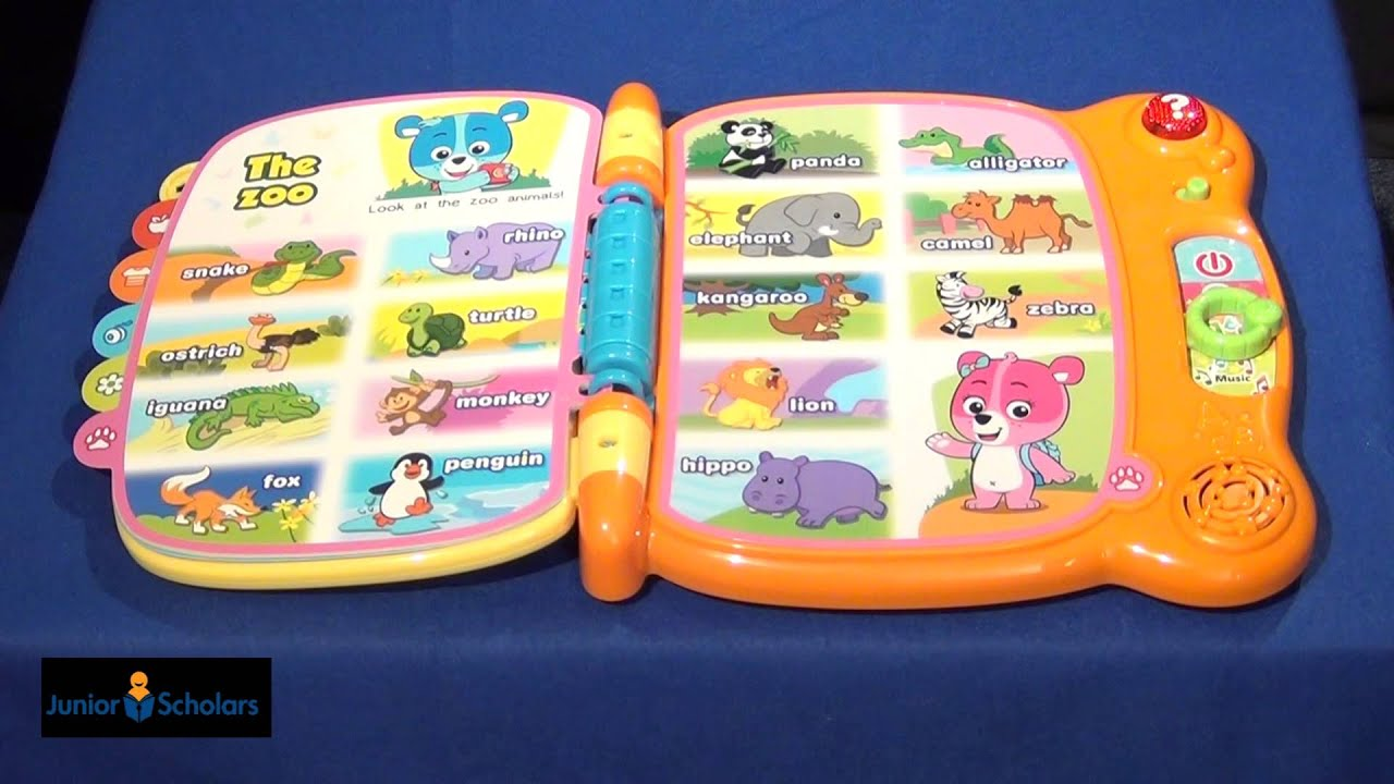vtech baby my 1st word book product review youtube