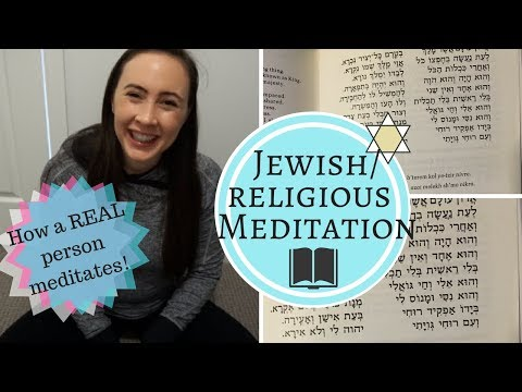 JEWISH MEDITATION - How to Meditate for Beginners & Jewish Meditation Technique