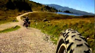Beginners mountain biking trip to the Austrian Alps